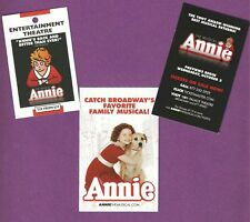 ANNIE the Musical at the PALACE with LILLA CRAWFORD and ANTHONY WARLOW 3 items
