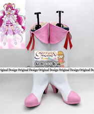 HappinessCharge PreCure! Pretty Cure! Smile Cure Happy Boot Shoes Cosplay Boots