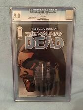 Walking Dead FCBD 2013 Special #1 CGC SS 9.0 VF/NM WHITE PAGES