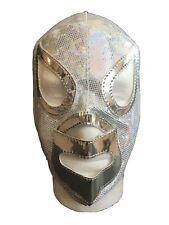 Handmade Semi-Professional Mexican El Santo Lucha Libre Wrestling Mask - Mascara