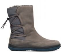 Camper Peu Pista Winter Boots Waterproof In Grey With Laces, Wm 41, Brand New