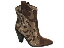 Carlos by Carlos Santana Women's Sterling Western Booties Burbon Size 6 M