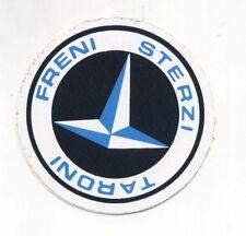 Adesivo TARONI FRENI STERZI Pubblicità advertising PROMO sticker anni 80