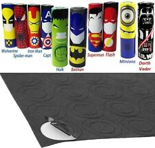 "40 pcs ""Hero Design Pack"" 18650 Lithium Battery Heat Shrink Wraps + Insulators"