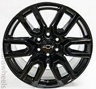 Chevy Silverado Suburban Gloss Black Replica At4 20 Wheels Rims Lugs Freeship