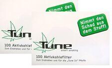 200 TUNE Aktivkohlefilter Eindrehfilter Aktiv Kohle Filter 2 x 100er Box