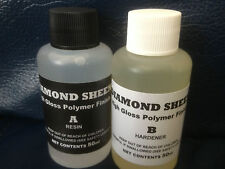 DIAMOND SHEEN 2 Part High Build Fishing Rod Epoxy Varnish.