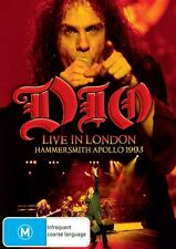 Dio - Live In London Hammersmith Apollo 1993 (DVD, 2014)
