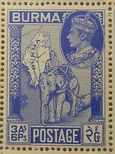 BURMA 1946 SG67 3a.6p. VICTORY  -  MNH