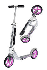 Hudora Big Wheel 205 Roller Scooter pink/silber 14773