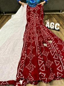 Women Anarkali Kurta Kurti Designer Dupatta Bollywood Style Kurti Partywear Gown