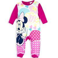 Baby Boys Girls Mickey Minnie Paw Patrol Sleepsuit Romper Babygrow Pyjamas 3-24m