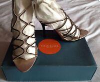 Karen Millen Pink Ladies Sandals Size UK 4.5 Euro 37.5 Boxed