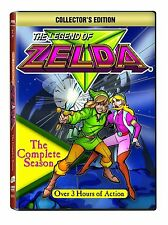 Legend of Zelda Complete Season DVD Set Collection Lot Episodes Series TV Show 1