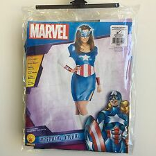 NEW, Marvel American Dream Adult Halloween Costume Medium Size 6-10