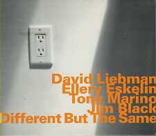 DAVID LIEBMAN - ELLERY ESKELIN   different but the same