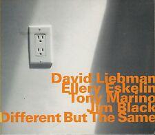 DAVID LIEBMAN - ELLERY ESKELIN   different but the same