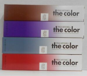 PAUL MITCHELL THE COLOR New Look Same Great Formula Hair Color Permanent ~ 3 oz.