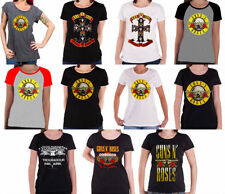 Graphic Tee Guns N 'Roses T-Shirts for Women