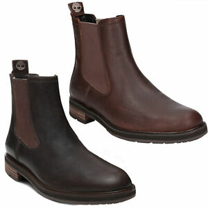 Mens Timberland Windbucks Chelsea Pull On Smart Ankle Boots Sizes 7 to 12.5