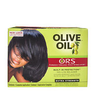 Organic Root Stimulator Olive Oil Relaxer Extra Strength 8 PC Kit