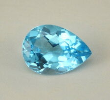 Top Topaz: 13,22 CT natural swiss Blue topacio procedentes de Brasil