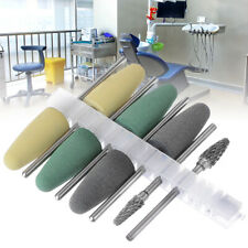 Dental Silicone Resin Base Acrylic Polishing Bur Dental Lab Diamond Polish US