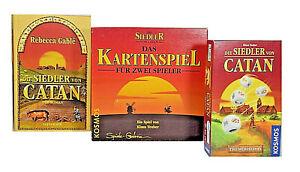Die Siedler von Catan Das Kartenspiel + Würfelspiel + Der Roman