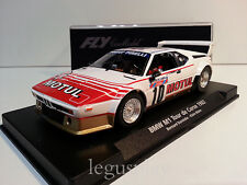 Slot car SCX Scalextric Fly 88180 BMW M1 Tour De Corse 1982 Darniche/Mahe A-1303
