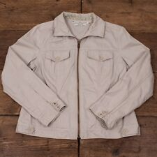 Womens Vintage 90s Tommy Hilfiger Tailored Jacket Stone Size XL 14-16 R3082