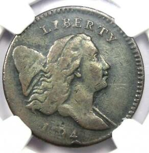 1794 Liberty Cap Flowing Hair Half Cent 1/2C Coin (C-3A R5 Variety) - NGC VF20