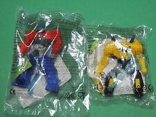 Série Transformers Robots lot 2 figurine jouet Happy meal Mc do Donald's