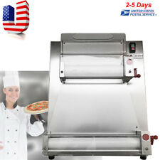 Automatic Pizza Dough Roller Sheeter Pizza Making Machine Restaurant Kitchen USA