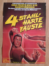 MARTIAL ARTS: Fatal Flying Guillotine  German 1-sheet 1977 Hongkong Kung Fu