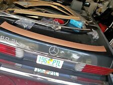 107r Mercedes 450 380 560 SL top rearback lower inside trim panel biege