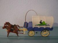Playmobil 3785 Kutsche Planwagen Western ACW Südstaaten Figuren Zubehör
