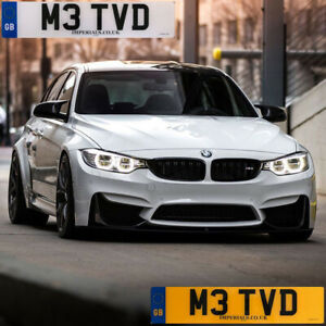 Personalised Private Cherished Registration Number M3 TVD - Ideal for BMW M3