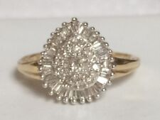 Ladies diamond cluster ring (OG654)