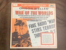 War of The Worlds - Orson Wells 2Lp Vinyl - Play Tested - Vg 4001 Original