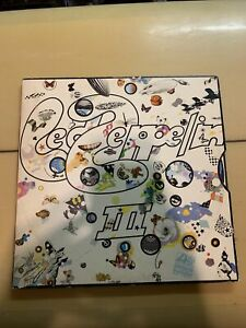 Led Zeppelin III cover with I self vinyl SD 7201 SD 8216 lp