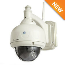Sricam Wireless Outdoor Pan/Tilt Network CCTV Camera P2P Wifi IP Webcam IR-Cut @