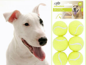 6 Dog Tennis Balls Replacement Frisbee Exercise Trainer Launcher Thrower Chucker