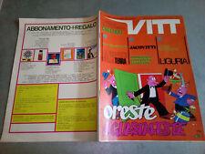 """VITT N.3 1969 + ALLEGATO POSTER GIGANTE CAGLIARI CALCIO - OTTIMO/EDICOLA """"M"""""""