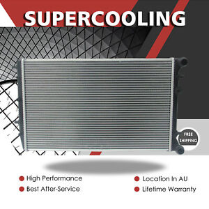 Radiator For Volkswagen Polo 9N 1.4TD 1.9TD 4 Cyl MT 1996-2000 408MM Wide Core