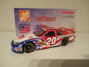 TONY STEWART 2003 ACTION #20 HOME DEPOT INDEPENDENCE DAY CHEVY XRARE!