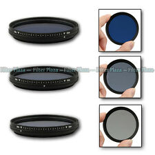 Fotga 77mm Slim Adjustable Variable Color Conversion Fader ND Blue Lens Filter