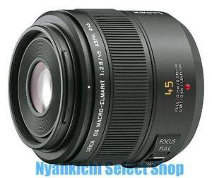 Panasonic Leica DG Macro-Elmarit 45mm f/2.8 ASPH. MEGA O.I.S. lens Black Japan