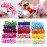 144Pcs Multicolor Mini Paper Rose Flower Bouquet Handmade DIY Embellishment