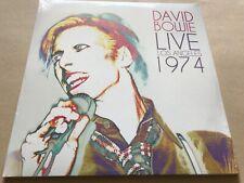 DAVID BOWIE Live Los Angeles 1974 Limited Edition Double black 180g vinyl lp