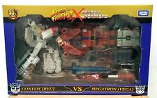 TAKARA TOMY 30TH STREET FIGHTER II x TRANSFORMERS RYU vs VEGA ACTION FIGURE